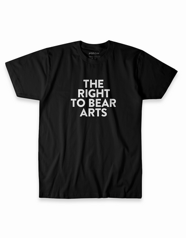 The Right to Bear Arts Tee - Black
