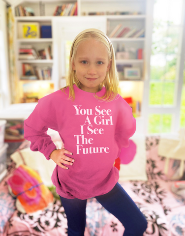 You See A Girl: Youth Sweatshirt