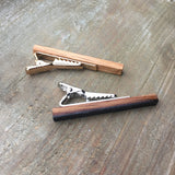 Whiskey Barrel Tie Clips
