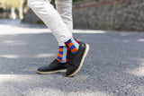 Men's 5-Pair Colorful Patterned Socks-3055