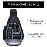 CADeN Camera bag Shoulder Sling Bag Backpacks Waterproof Nylon Shockproof Scratch Resistant DSLR Men Women for Canon Nikon Sony