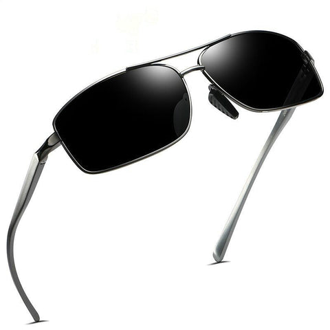 Aluminum Magnesium Frame Mens Polarized Sunglasses