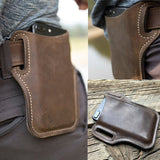 Medieval Pouch Bag Belt Leather Saddle