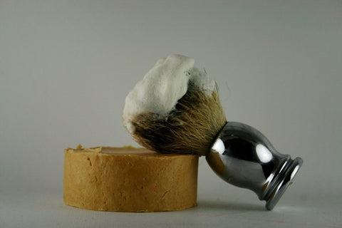 Lavender Cypress Artisan Shave Soap, Mens Shaving