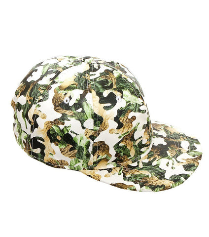 Printed Pattern Hat Color-Green