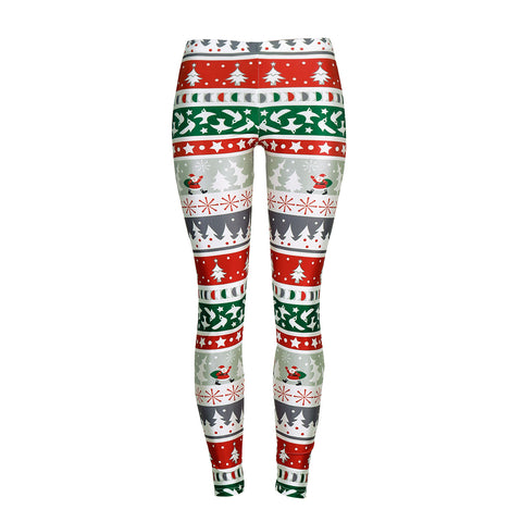 Christmas tights Women's Sequined Christmas Leggings