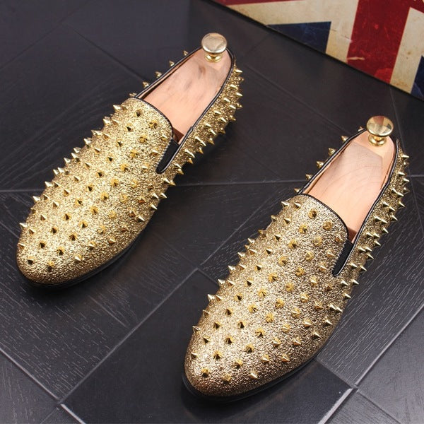 Spikes Trendy Loafers-F