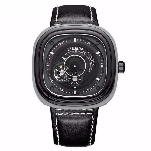 CARLOS CLASSIC LEATHER WATCH