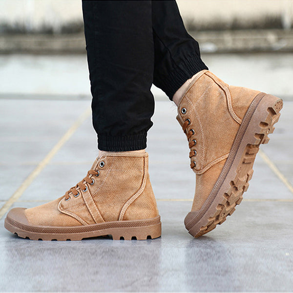 2019 Autumn  High Quality Flannel  New Boots 9