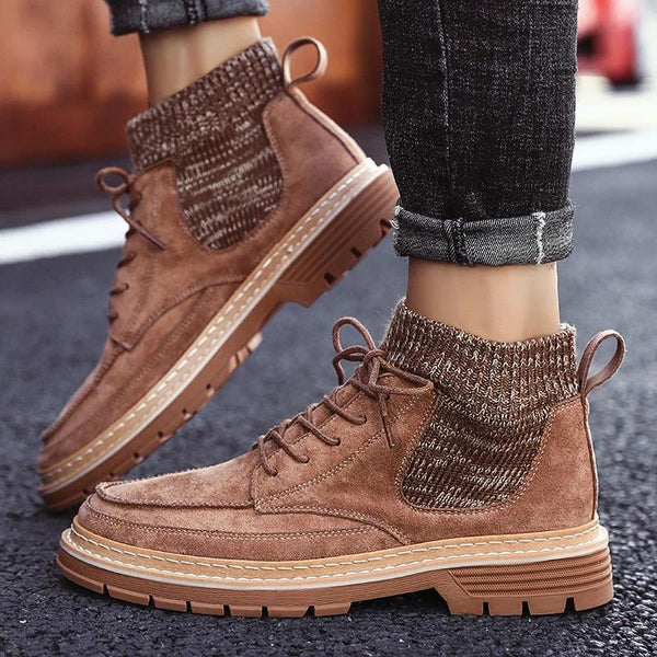 2019 Autumn  High Quality Flannel  New Boots