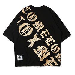 Couple hip hop trendy t-shirt
