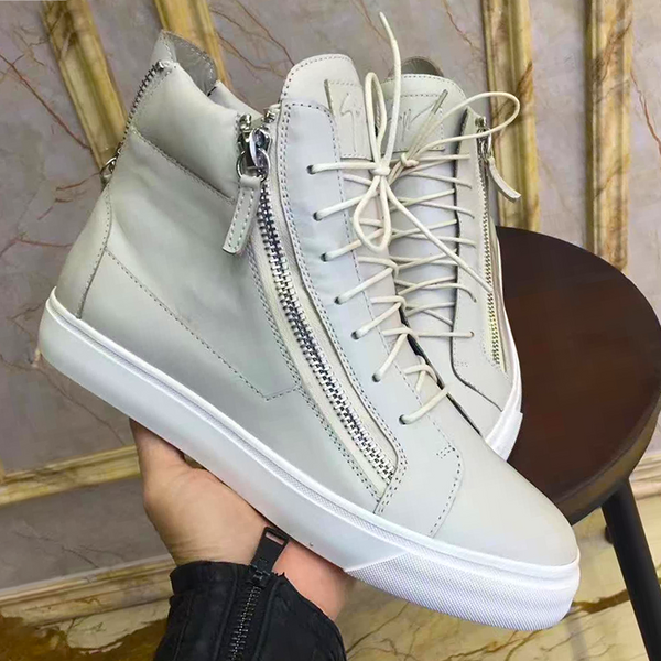 New Trendy high top buckle  shoe 17