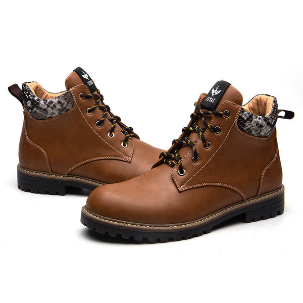 Luxury Durable  Outdoor Travel  New Martin boots 10