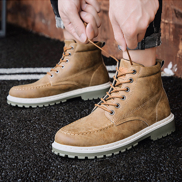 2019 Autumn  High Quality Flannel  New Boots 12