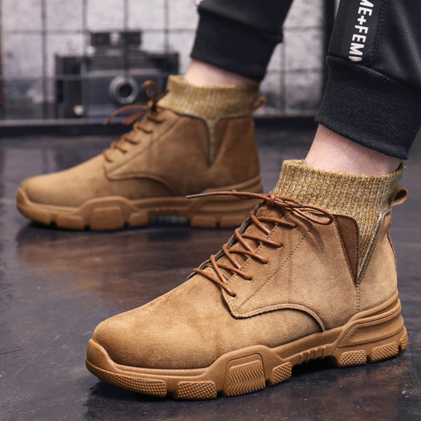 2019 Autumn  High Quality Flannel  New Boots 16