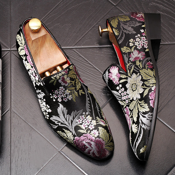 Print Trendy Loafers-10
