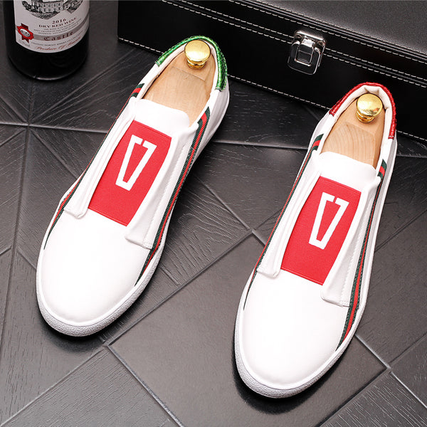 Leather Trendy Loafers-18