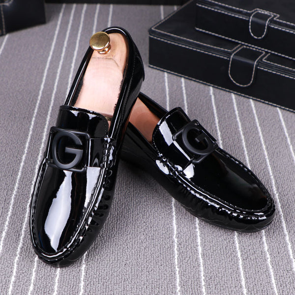 Leather Trendy Loafers-3