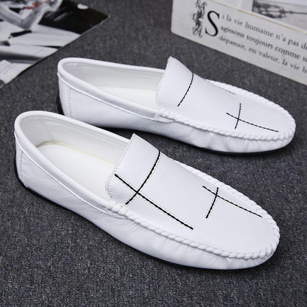 Men's Black Personality Loafer