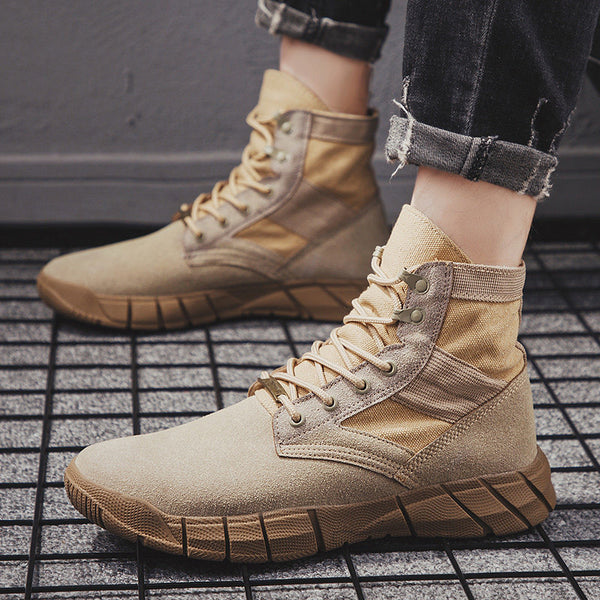 Casual Breathable comfortable boots 7