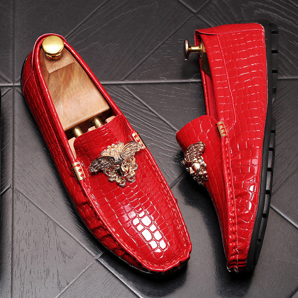 Glitter Trendy Loafers-3