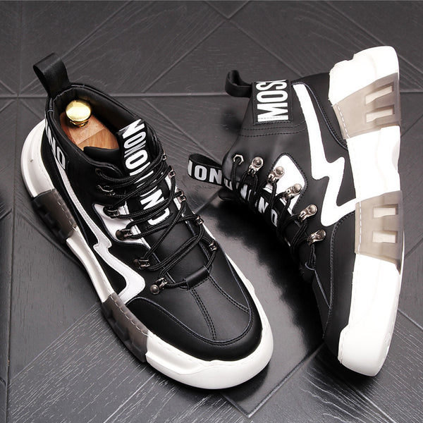 High-Top Fashion Shoes