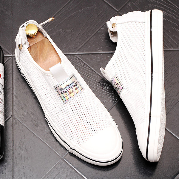 Mesh Trendy Loafers