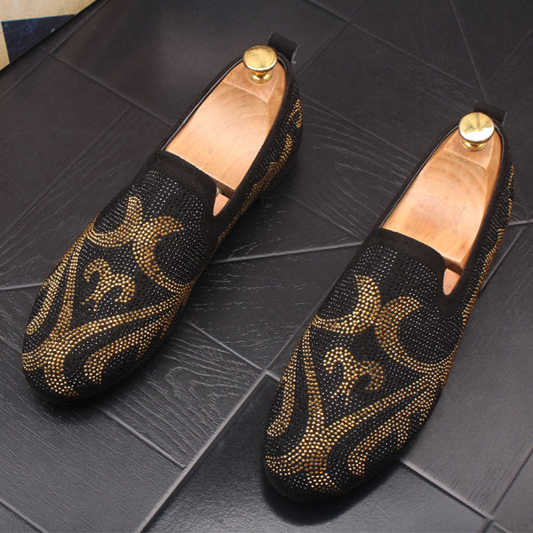 Leather Trendy Loafers-15