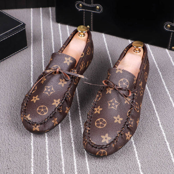 Print Trendy Loafers-8