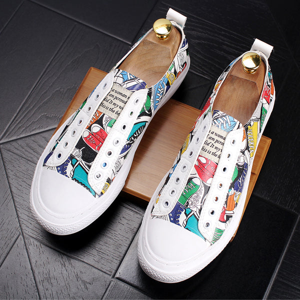 Graffiti Trendy Loafers
