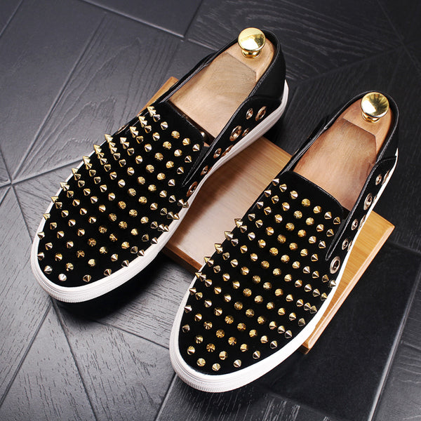 Spikes Trendy Loafers-O