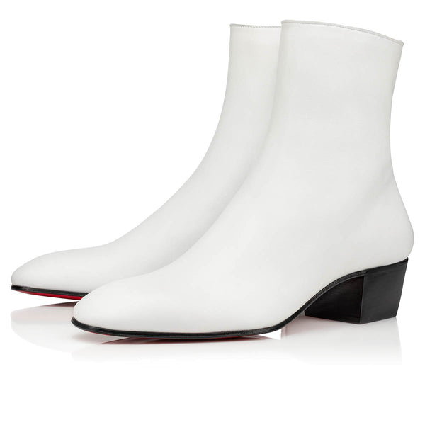 Red Bottoms Ankle Boots 13