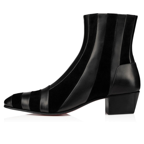 Red Bottoms Ankle Boots 06