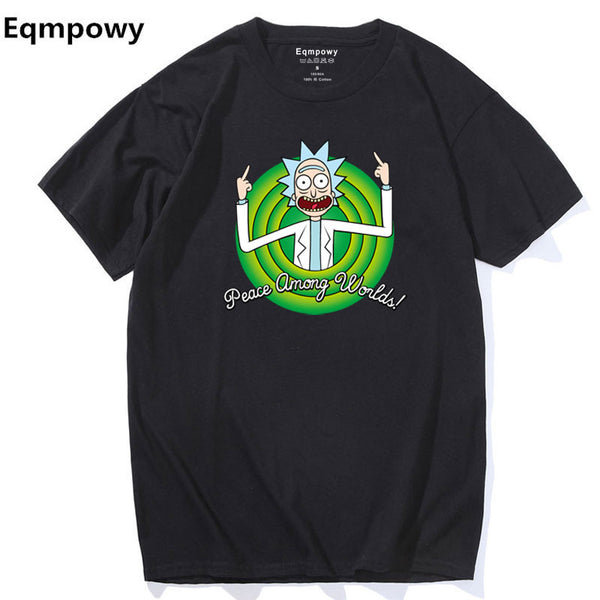 Cool Rick Morty men t-shirt