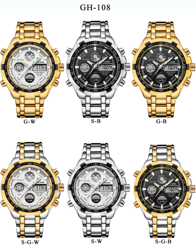 WATERPROOF MILITARY SPORT WATCHES