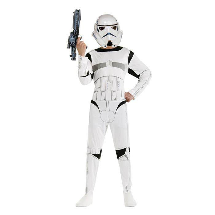 VEVEFHUAG Star Wars Costume The Force Awakens Storm Troopers Cosplay with Mask Halloween Costume for Kids Carnival Party