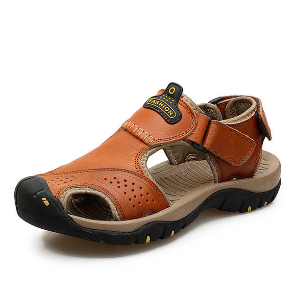 Summer Sandals Genuine Leather Shoes