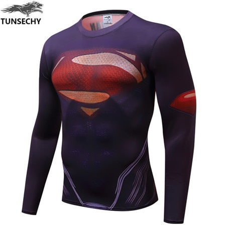 Superman 3D Printed T-shirts