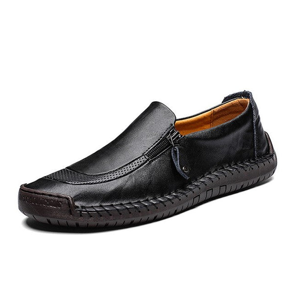 Summer Casual Leather Shoes Loafers 13 14