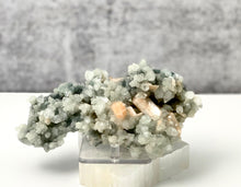 Load image into Gallery viewer, Chalcedony with Apophyllite and Stilbite