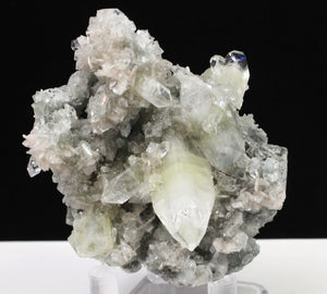 green and clear Apophyllite