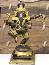 Load image into Gallery viewer, Brass Ganesha