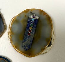 Load image into Gallery viewer, Lapis Chakra pendant
