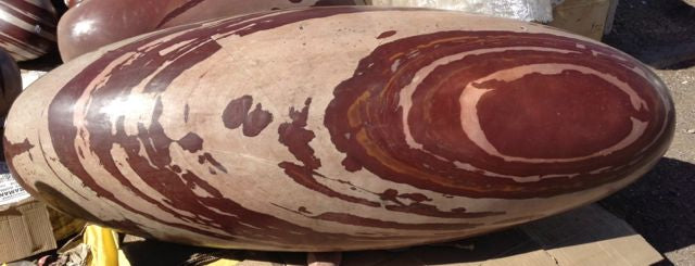 Large Shiva Lingam.  About 7 Feet long