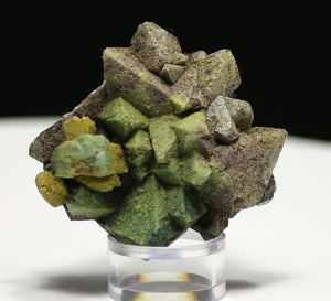Apophyllite with Heulandite inclusion