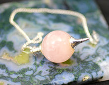Load image into Gallery viewer, Rose Quartz Pendulum