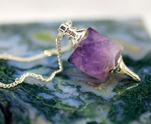 Load image into Gallery viewer, Amethyst Pendulum