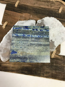 Crystal Charging Plate - Lapis