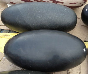 Large Black Shiva Lingam, 3 1/2 feet long.