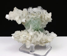 Load image into Gallery viewer, Disco ball Green Apophyllite with Stilbite